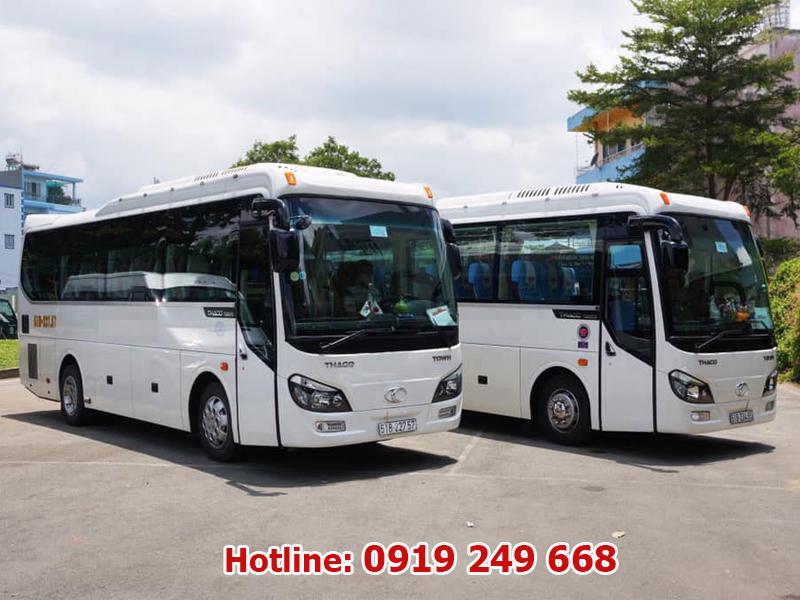 Cho thuê xe du lịch 29 chỗ tại quận Bình Tân